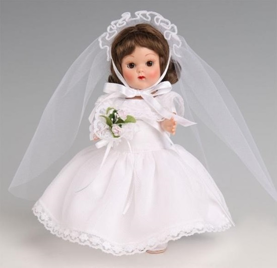 """Picture of """"Ginny Bride"""" Vintage Reproduction Ginny"""