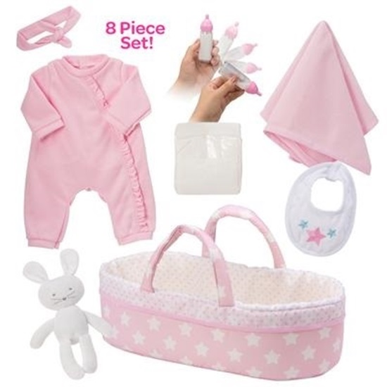 Picture of Adoption Baby Essentials - It's A Girl - Fits 16 inch dolls