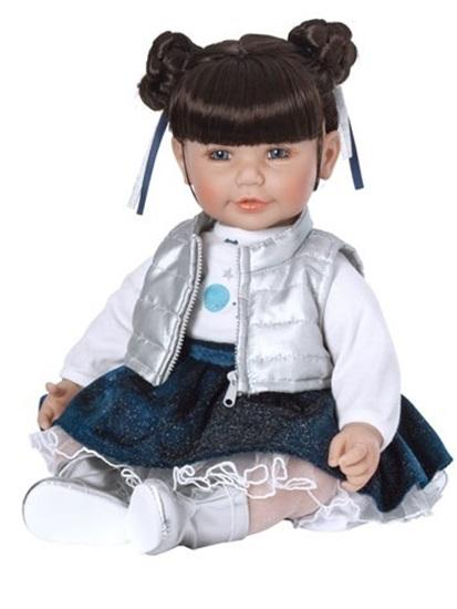 Picture of Cosmic Girl - Brown Hair, Blue Eyes - Cuddle Me vinyl