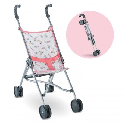 Picture of Pink Umbrella Stroller - fits up to 20' dolls