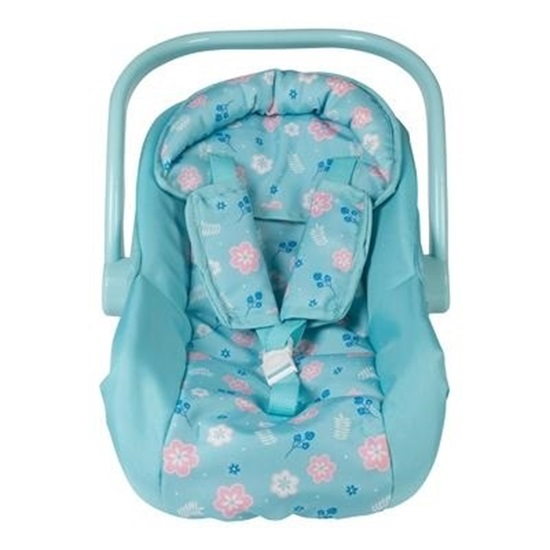 Picture of Flower Power Car Seat Carrier - New Print! Fits up to 20 inch Baby Dolls