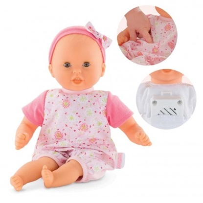 Picture of Bebe Calin Loving and Melodies - 12 inches - Soft Body - Interactive - 7 sounds