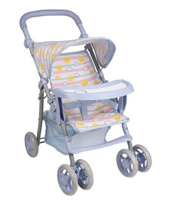 "Picture of ""Sunny Days"" Snack and Go Stroller - New - Fits Baby Dolls up to 20"" (52 cm)"