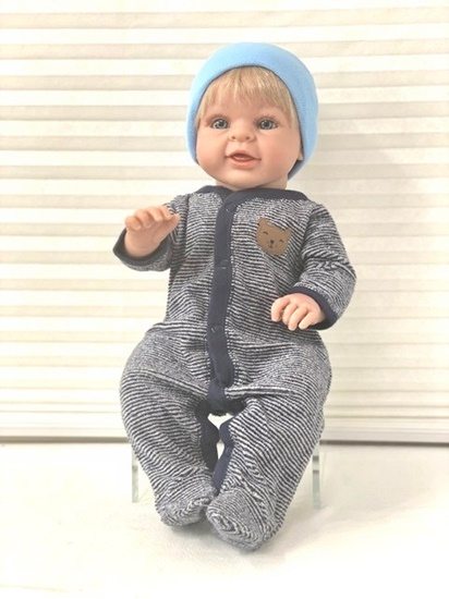Picture of Happy Baby Boy - Blonde Blue