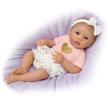 Picture of Heart of Gold Baby Doll - IN STOCK - FREE SHIPPING