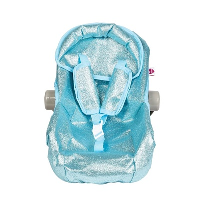 Picture of Blue Glitter Car Seat Carrier