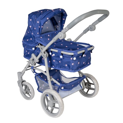 Picture of 2 in 1 Convertible Starry Night Stroller