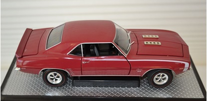 Picture of  1969 Chevrolet Camaro SS 396 R38 (13-07) Garnet Red