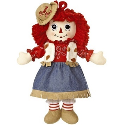 Picture of  Raggedy Ann Western - 12 inches