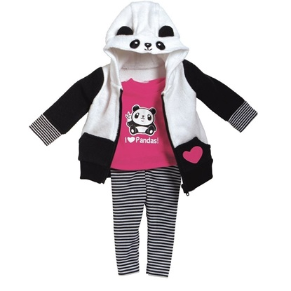 Picture of Kaylas Panda  Outfit for 18 inch Dolls