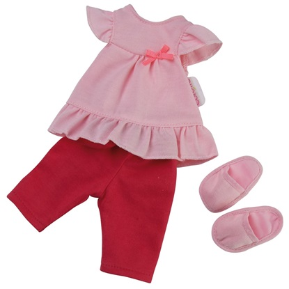 Picture of Les Cherie Pajama and Slipper Set - Fits 14 inch baby dolls